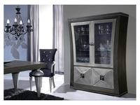 Llass витрина 2-х дверная  (plata rozada) Wonderland