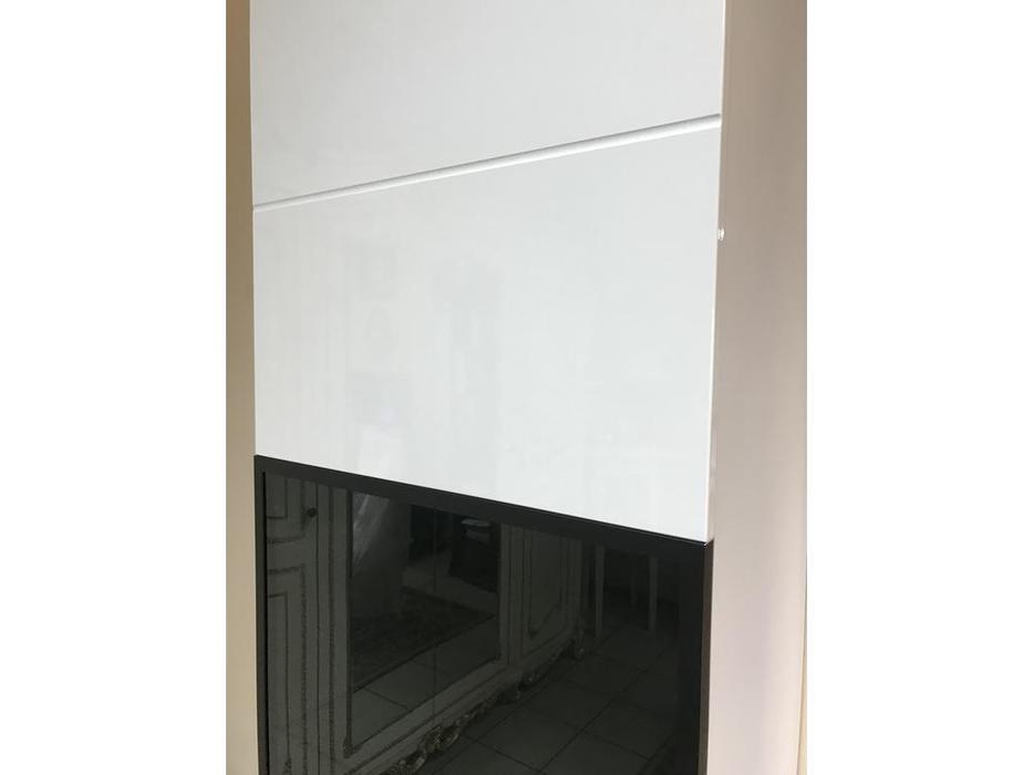 Helvetia витрина 1 дверная  (белый) Hektor