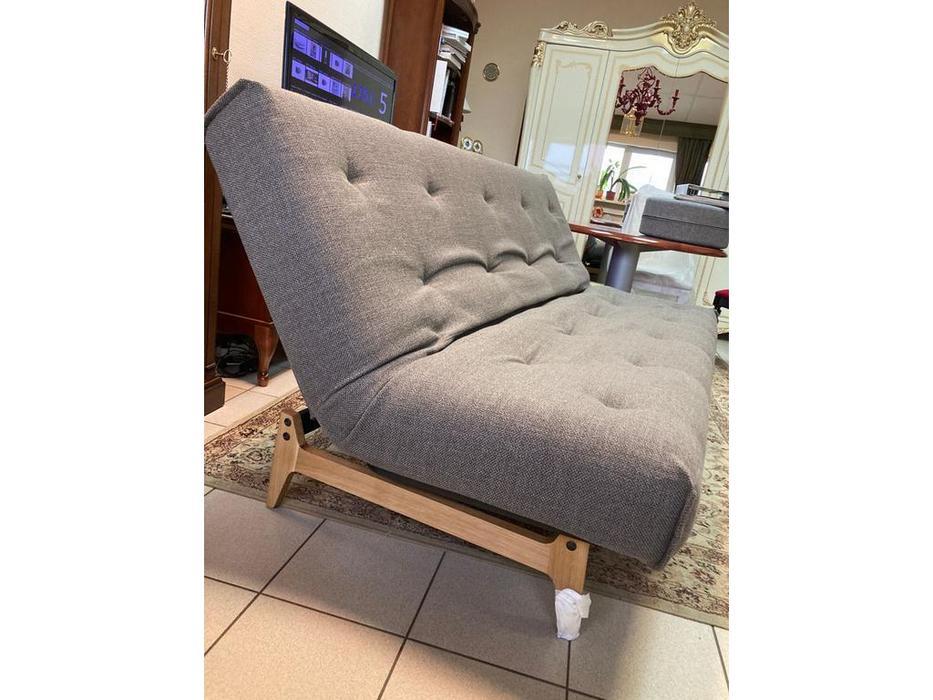 Innovation диван-кровать раскладной (серо-коричневый) Aslak
