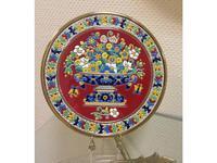 Artecer тарелка декоративная 28см (золото, разноцветный) Ceramico