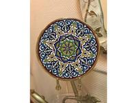 Artecer тарелка декоративная 23см (золото, разноцветный) Ceramico