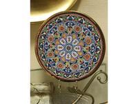 Artecer тарелка декоративная 32см (золото, разноцветный) Ceramico