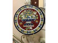 Artecer тарелка декоративная 28см (синий, разноцветный) Ceramico