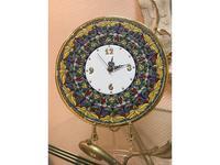 Artecer тарелка-часы диаметр 28см (золото, разноцветный) Ceramico
