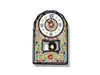 Artecer часы настольные с маятником 11х18см (синий, разноцветный) Ceramico