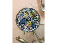 Artecer тарелка декоративная 17см (золото, разноцветный) Ceramico