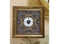 Artecer часы настенные 42х42 (золото, разноцветный) Ceramico