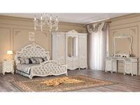 Dia спальня классика  (крем, золото) Рафаэлла