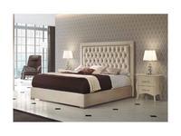 Dupen кровать двуспальная 160х200 (ткань) Adagio