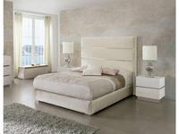 Dupen кровать двуспальная 160х200 (бежевый) Claudia