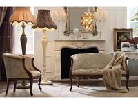 GiorgioCasa диванчик Art. S232 ткань Cat. A Giulietta e Romeo