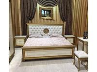 Мэри кровать двуспальная 160х200 (слоновая кость) Версаль