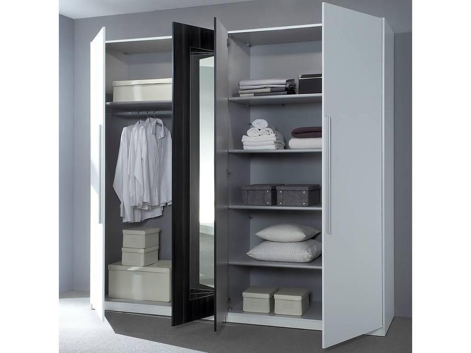 Helvetia шкаф 4 дверный  (орех красный) Vera