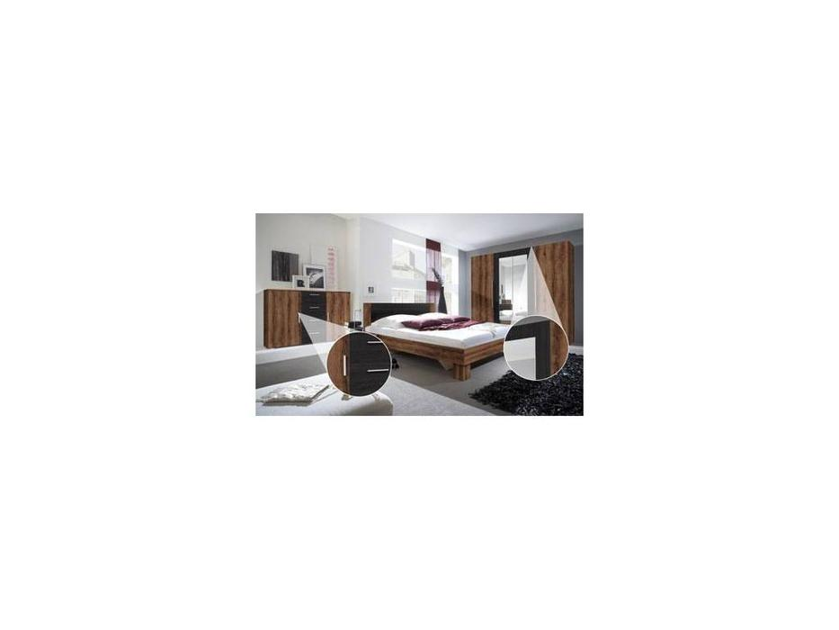 Helvetia спальня современный стиль комната со шкафом (орех красный) Vera