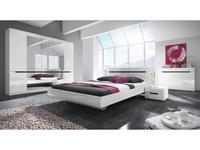 Helvetia спальня современный стиль с 5-ти дверным шкафом (белый) Hektor
