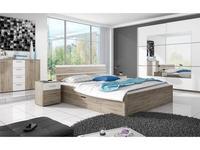 Helvetia кровать двуспальная 160х200 (дуб сан ремо) Beta