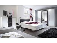 Helvetia спальня современный стиль со шкафом (белый,орех) Vera