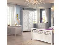 5218508 шкаф 2-х дверный De Luxe: Океан