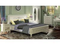 5218514 кровать двуспальная De Luxe: Романс