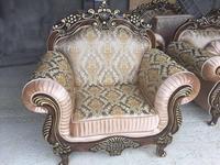Beloni кресло  (темный орех, золото) Малетти