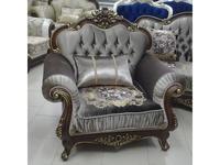 Beloni кресло  (темный орех, золото) Патриция