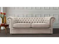 Liberty диван 3-х местный раскладной ткань (бежевый) Worchester