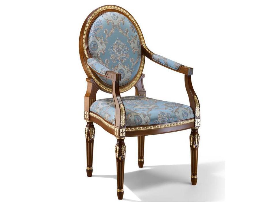 Zzibo Mobili кресло  (орех, золото) Александрия