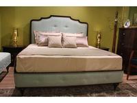 Zzibo Mobili кровать двуспальная 160х200 ткань Velvet LUX (шоколад) Оскар