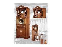 Maggi Massimo шкаф кухонный с кофемашиной (орех) La cantina