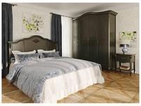 LAtelier Du Meuble спальня прованс  (черный со старением) Nocturne