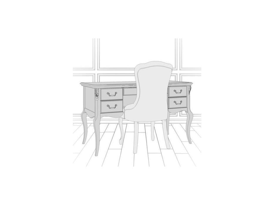 LAtelier Du Meuble стол письменный  (черный со старением) Nocturne
