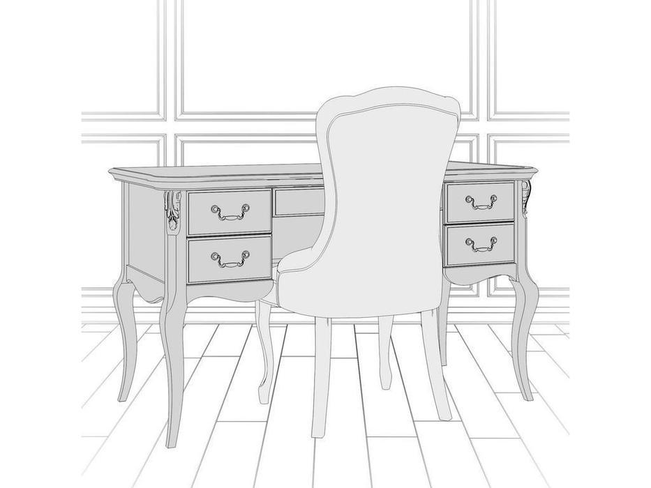 LAtelier Du Meuble стол письменный  (слоновая кость) Romantic Gold