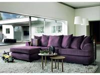 Furninova диван угловой ткань B (сиреневый) Royan Queen