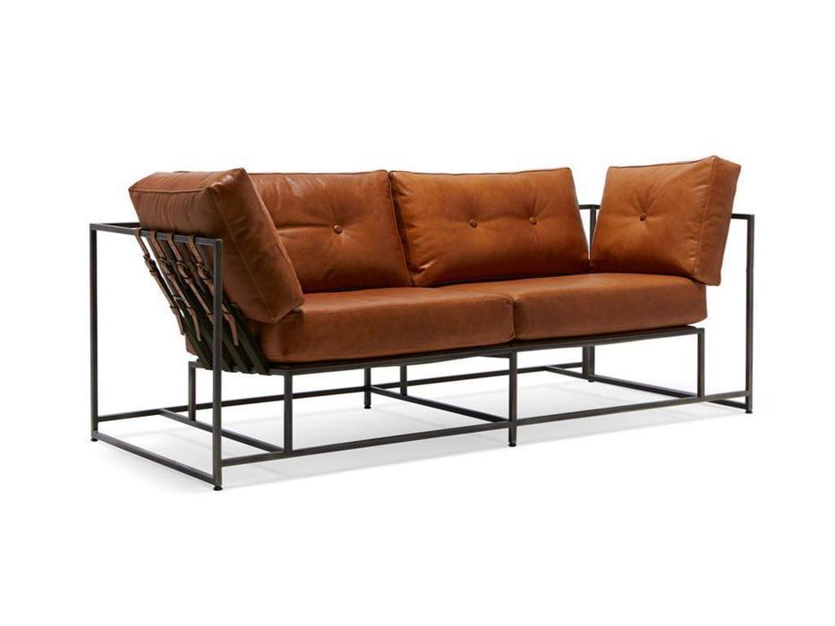 The Sofa диван 2-х местный Лорд (светло коричневый) Loft