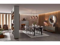 Vanguard Concept гостиная современный стиль  (шпон темный эвкалипт, лак матовый) Zurich