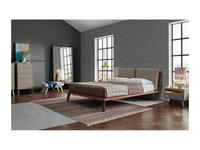 Vanguard Concept кровать двуспальная 160х200 (шпон орех, лак матовый) Bristol