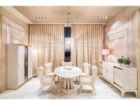 Aleal гостиная современный стиль  (бежевый лак, мрамор, ткань) Prestige