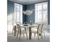 Aleal стол обеденный раскладной (лак, шпон) Sliding