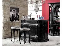 Mirandola барная стойка  (черный, мрамор) Arena