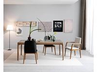 Le Fablier стол обеденный раскладной Ekanta (zenzero, grigio) Fiori di Loto