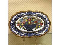 Cearco тарелка декоративная овальная Cercolon