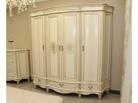 Юта шкаф 4 дверный  (шампань) Палермо