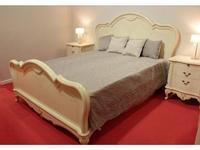 Юта кровать двуспальная 160х200 (бежевый) Парма