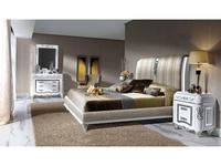 Canella спальня классика  (белый, серебро) Babel