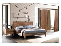 Camelgroup кровать 160х200 (вяз табачного цвета) Fold