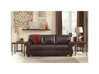 Ashley диван 3 местный  (коричневый) Bristan
