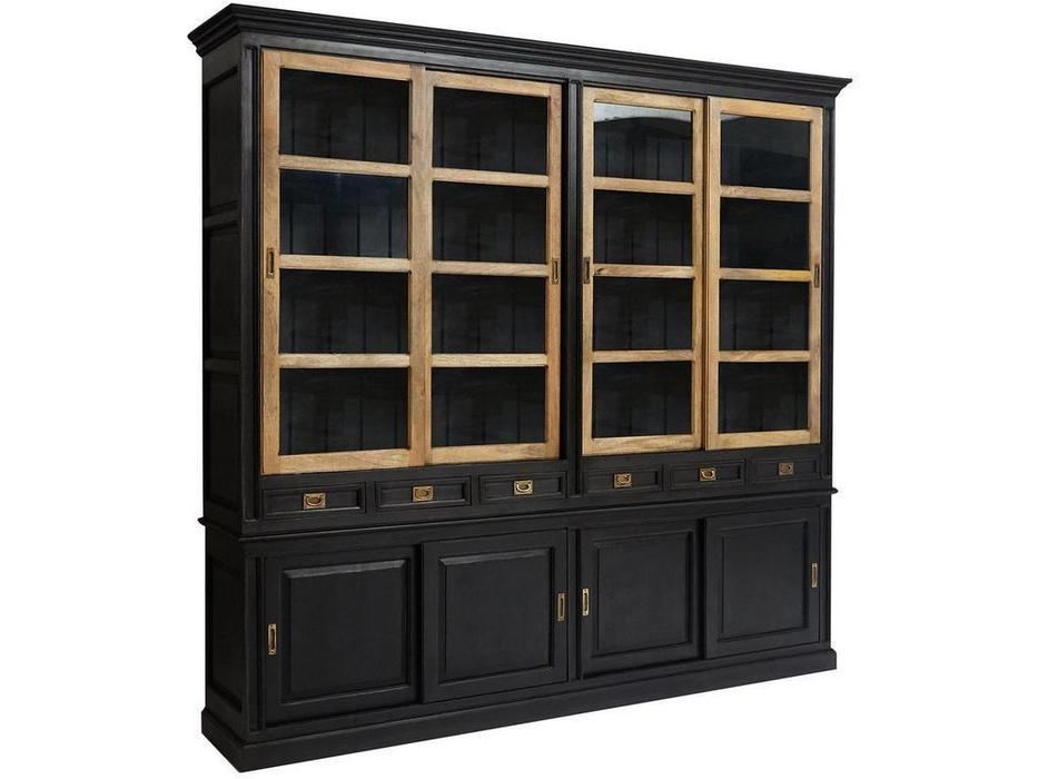 Loft шкаф книжный  (манго) Black Label