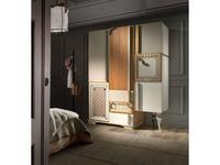 Lola Glamour шкаф 3 дверный  (вишня, бежевый) One