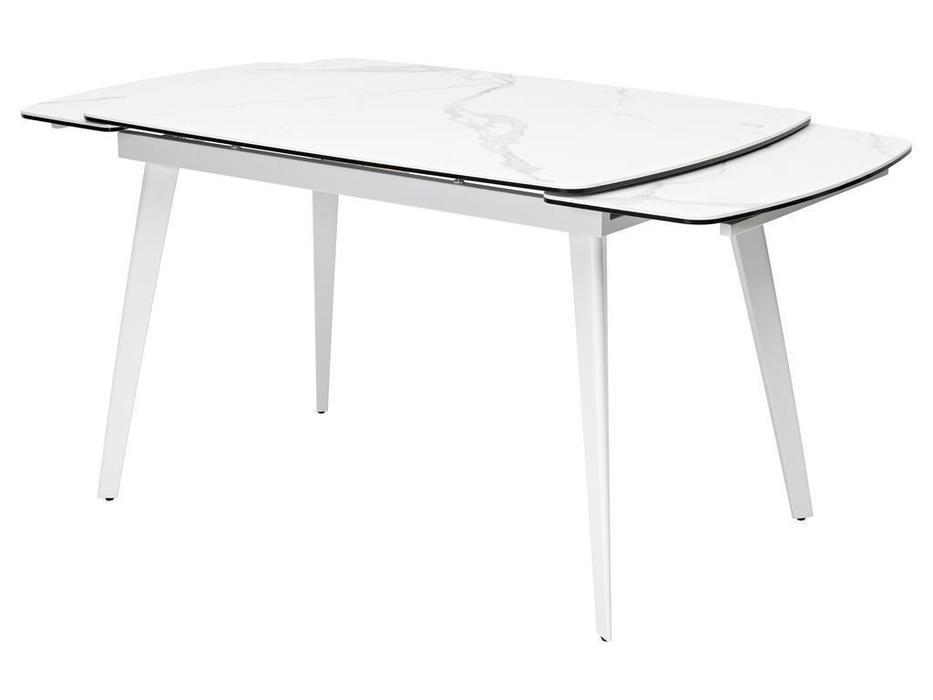 Megapolis стол обеденный раскладной (белый) Eliot