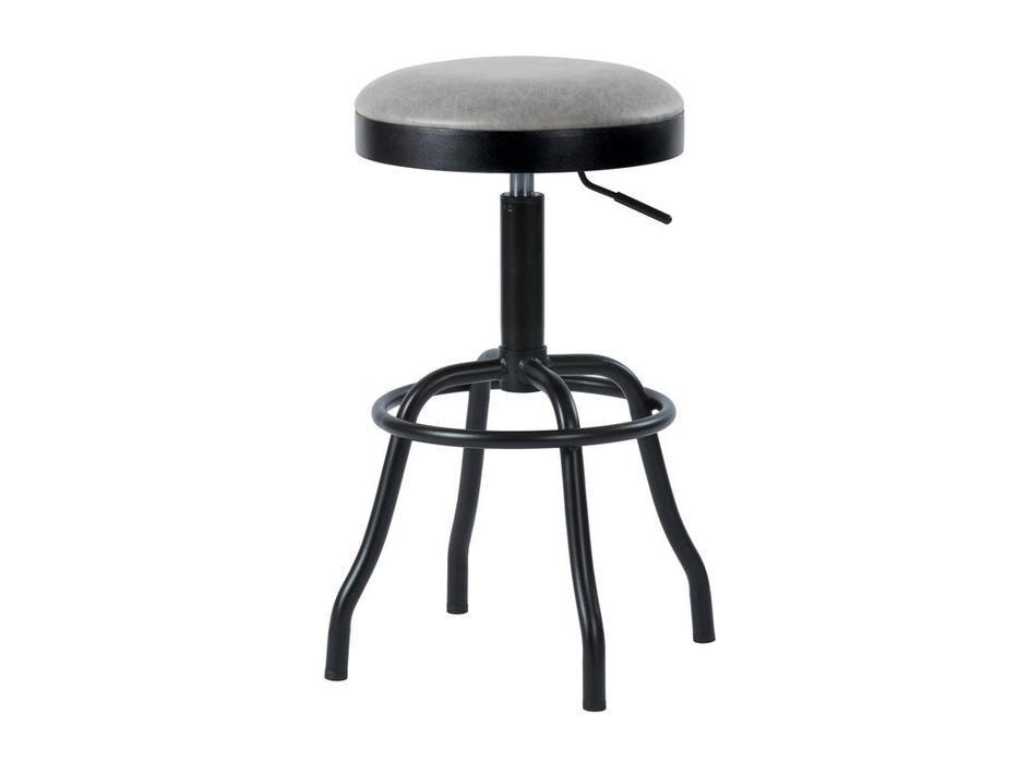 Megapolis стул барный Vintage (серый, черный) Dacota
